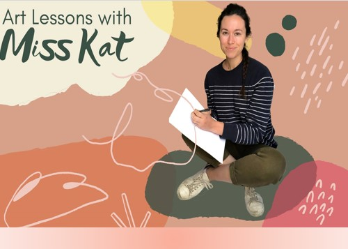 Online Art Lessons with Miss Kat