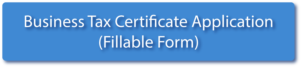 Business Tax Certification Application Fillable Form