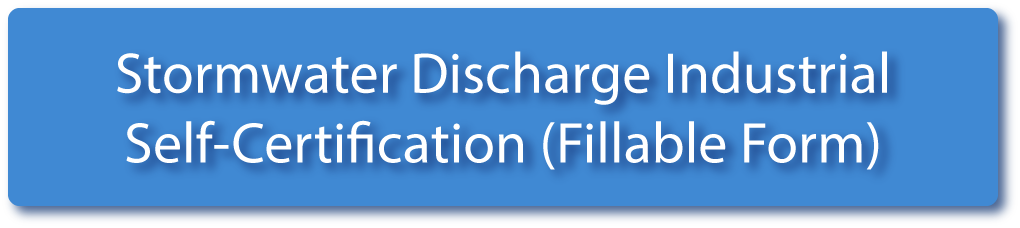 Stormwater Discharge Industrial Self Certification Fillable Form