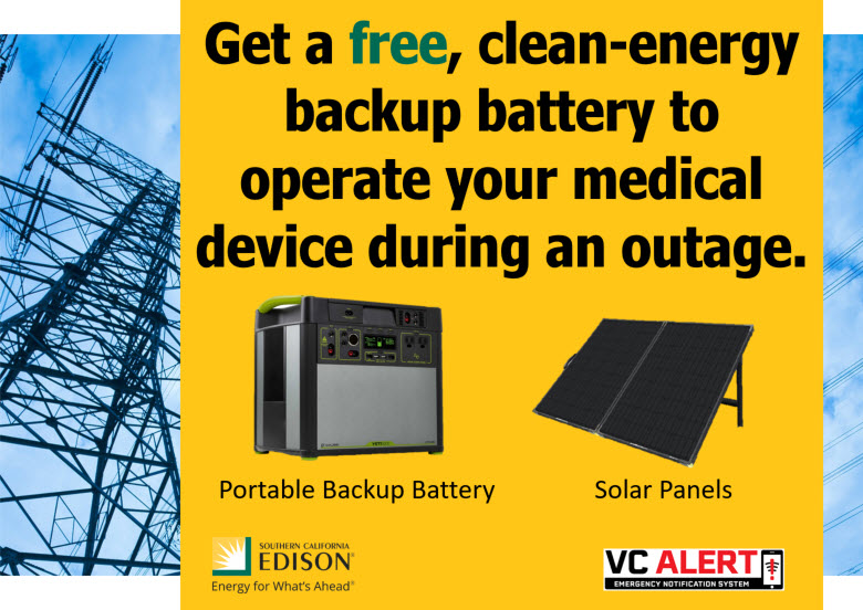 SCE's Critical Care Backup Battery Program