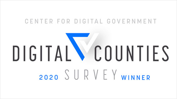 Digital Counties 2020 Survey Winner