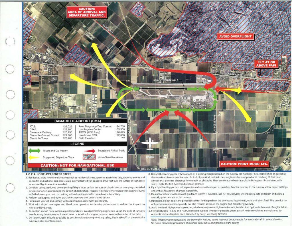 Camarillo Airport Routes