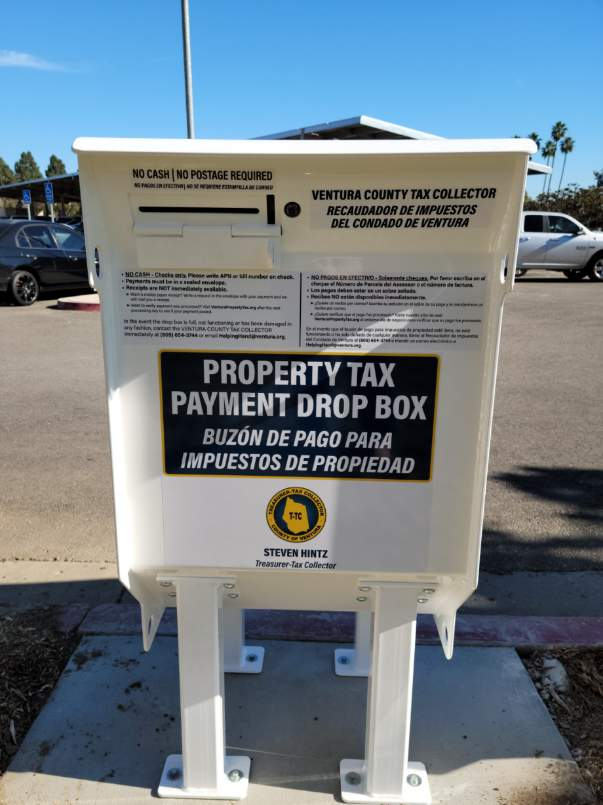 Property Tax Drop Box