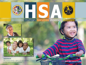 Human Service Agency 2016 2017 Annual Report