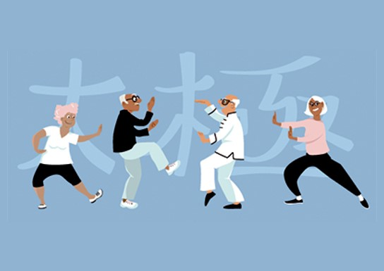 Tai Chi: Moving for Better Balance for Seniors