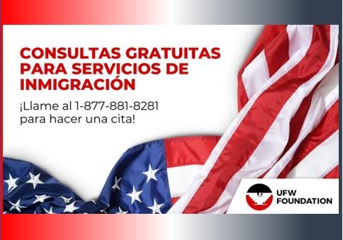 Consultas Gratuitas de Inmigración – Free Immigration Consultation